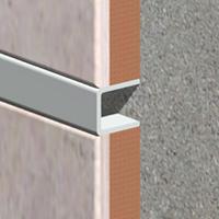 UPD107-Profil U decorativ din aluminiu eloxat 9x10mm