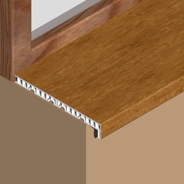 GIS303-Glaf pentru interior din PVC infoliat 300mm
