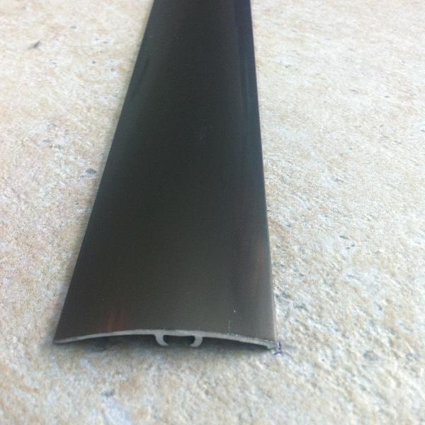 LAP41 - Prag/Trecere surub ascuns aluminiu eloxat l=41mm