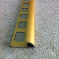 TFR17-Bagheta rotunda colt exterior 10 mm adancime,din eloxalum