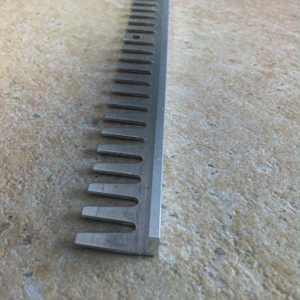 EFA080-Bagheta flexibila din aluminiu natural 8mm
