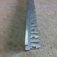BFA107-Baghetă dreaptă flexibilă din aluminiu neeloxatA=10m