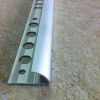 ERT127-Bagheta semirotunda 12 mm adancime din aluminiu eloxat
