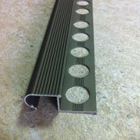 LRA105-Protectie treapta rotunda LINECO din aluminiu eloxat10mm