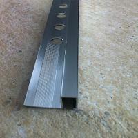 TDG104-Bagheta patrata Genesis 10 mm adancime din aluminiu eloxat,2.5m