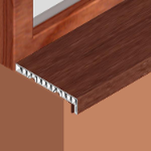 GIS203-Glaf pentru interior din PVC infoliat 200mm